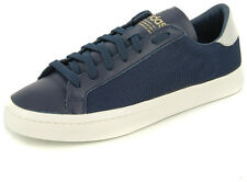 New Men's Adidas Originals Court Vantage Navy/white Footwear Sneakers Shoes Runn