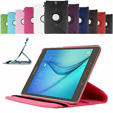 360 Rotating Smart Case Cover For Samsung Galaxy Tab A 10.1 T580 + Protector