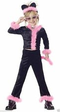 Pretty Kitty Toddler and Girls Costume 00195/00607