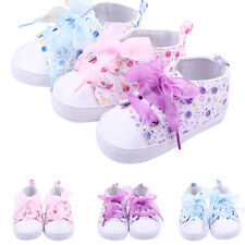 Hot Baby Boots Girls Lace Up Soft Sole Crib Sneakers Shoes Toddler Shoes CC