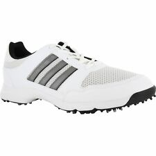 Adidas Mens Golf Tech Response 4.0 White 816570 Golf Shoes Cleats Size 13 - NEW