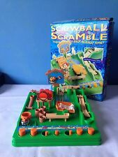Classic Screwball Scramble Children's Toy Board Game Complete With 2 Balls Hoop
