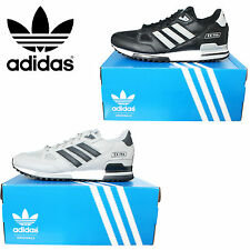 Mens Adidas Originals ZX Flux 750 Leather Trainers Shoes Running Sneakers