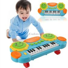 Electronic Baby Kids Music Instrument Toy Battery Organ Keyboard Hand Beat CO99