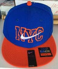 NWT Nike METS NYC ORANGE BLUE SWOOSH CAPS HATS New with tags Nike NEW YORK METS