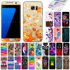 For Samsung Galaxy S7 Edge G935 Pattern Vinyl Skin Decal Sticker Cover Protector