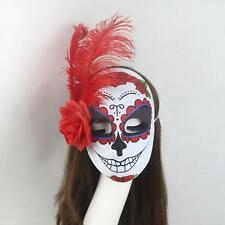 Mexican Day Of The Dead Face Masks Halloween Fancy Dress Costume Accessory Adult