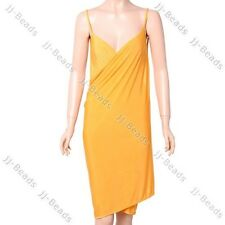 Deep-V Neck Open-Back Beach Wear Swimwear Bikini Cover Up Summer Lady Easy-Dress