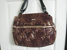 MICHE PHOEBE Prima Shell Big Bag Face Burgundy & Gold  *NWT* FREE SHIPPING