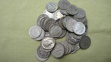 90 % Silver Roosevelt Dimes Lot of 10 Dimes ** 1946-1964 , Face Value 1.00 # 74