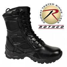 Rothco Men's Forced Entry Deployment Boot With Side Zipper 5358 Tactical Shoes
