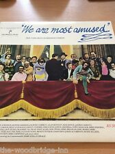 WE ARE MOST AMUSED THE VERY BEST OF BRITISH COMEDY DOUBLE LP RECORD ALBUM GGE