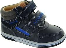 Geox B Flick B Baby Boy's Navy Blue Twin R Hi Top Boots New