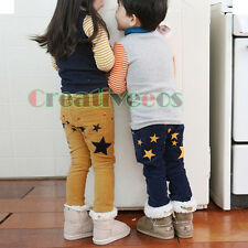 Trendy Kids Boys Girls Stars Harem Trousers Toddlers Pants Costume 2-7 Years New