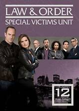 Law & Order: Special Victims Unit - Year Twelve (DVD, 2011) [Brand New]