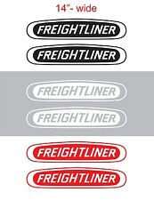"2pcs 14"" FREIGHTLINER Vinyl Sticker Decal Graphic COLUMBIA CASCADIA SEMI TRUCK"