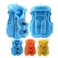 Kids Summer Swimming Vest Life Jacket Children Float Aid Jacket Inflatable Vest