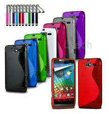 For All Microsoft & Nokia Lumia Models - S-Line Wave Gel Silicone Case & Ret Pen