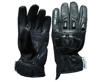 Motorcycle Motorbike Carbon Kevlar Short Gloves