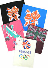 London 2012 Official Olympics Womens TShirts Various Designs Colours Sizes 10-14
