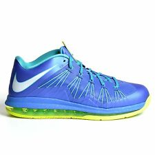 NIKE AIR MAX LEBRON 10 LOW SPRITE BLUE 2013 VOLT TURQUOISE X DS 579765-500