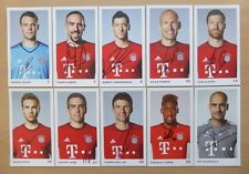 2015-16 Signed Bayern Munich Official Club Cards