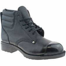 MENS EXTERNAL STEEL TOE CAP WORK GRAFTERS LEATHER SAFETY BOOTS SIZE UK 7- 12