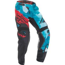 2017 Fly Racing Kinetic Crux MX Motocross Pants - Teal / Black / Red