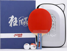 DHS Hurricane #2 No.2 Table Tennis Paddle/Bat, PingPong Racket, NEW