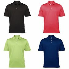 Adidas Golf Climalite Mens Textured Solid Polo Shirt