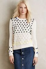 NWT! Anthropologie Candy Dot Pullover Sweater Sz XS, S, M by Moth Soooooo Cute!
