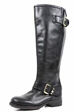 Women's Steve Madden Barton Black Back Zipper Boots Sizes 5, 5.5, 6, 8 M