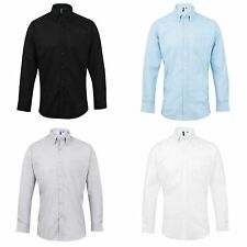 Premier Mens Signature Oxford Long Sleeve Work Shirt