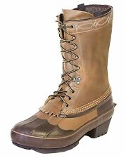"""New Kenetrek 11"""" Cowgirl Womens Lace Up Brown Riding Boot KE-1429-L Whole Sizes"""