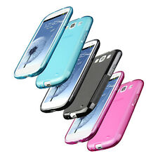 Back Rubber Gel Silicone Case Cover Skins For Samsung Galaxy SIII S3 i9300