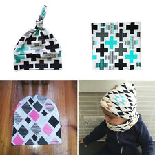Cute Toddler Kids Girl Boy Baby Infant Spring Warm Knit Hat Beanie Cap+Scarf Set