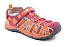 Circo® Youth Girls Finola Pink & Orange Fisherman Sport Hiking Sandals - NEW