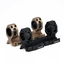 25.4mm/30mm Dual Scope Ring 20mm Mount Rail Weaver Picatinny For Rifle Scope