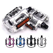 Multi-color Bike Bicycle Pedals with Reflectors Universal Mountain Bike One Pair