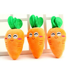 Plush Lovely Carrot Bite Chew Toys for Dog Pet Dog Toys Squeaky Toy Pet Supplies