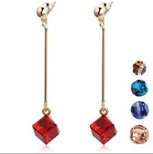 Fashion Charm Long Hot Jewelry Drop Crystal Stones Pop Big Multicolor Earrings