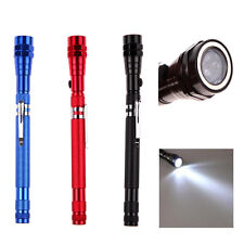 Telescopic Extendable 3 LED Torch Magnetic Light Lamp Flashlight Pick Up Tool