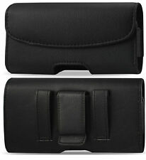 BELT CLIP/ LOOP LEATHER HOLSTER POUCH CASE COVER FOR ALL SAMSUNG GALAXY