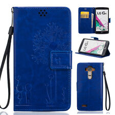 Top Leather Filp Love Patterns Stand With Card Wallet Case Cover For LG G3/4/5