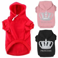 Small Pet Dog Winter Clothes Puppy Cat Hoodie Warm Coat Clothing Costume XS-XXXL