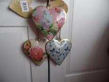 SHABBY VINTAGE STYLE CHIC PRETTY  METAL  FLORAL, ROSE, BUTTERFLY OR BIRD HEART