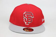 San Francisco Giants Red/Grey New Era MLB Fitted Hat