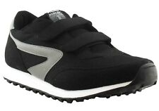 Dunlop XLC Jogger Twin Strap Mens Runners/Sneakers Black Shoe (bkdrop)