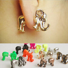 Fashion Design New Coming Elephant Earring 3D Elephant Shaped Earring Ear Stud