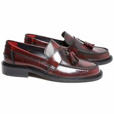New Delicious Junction Perforated Toe Tassel Loafers Mod Shoe Ox Blood